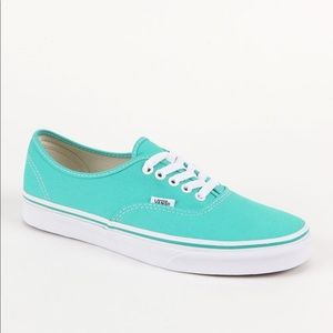 Tiffany blue vans